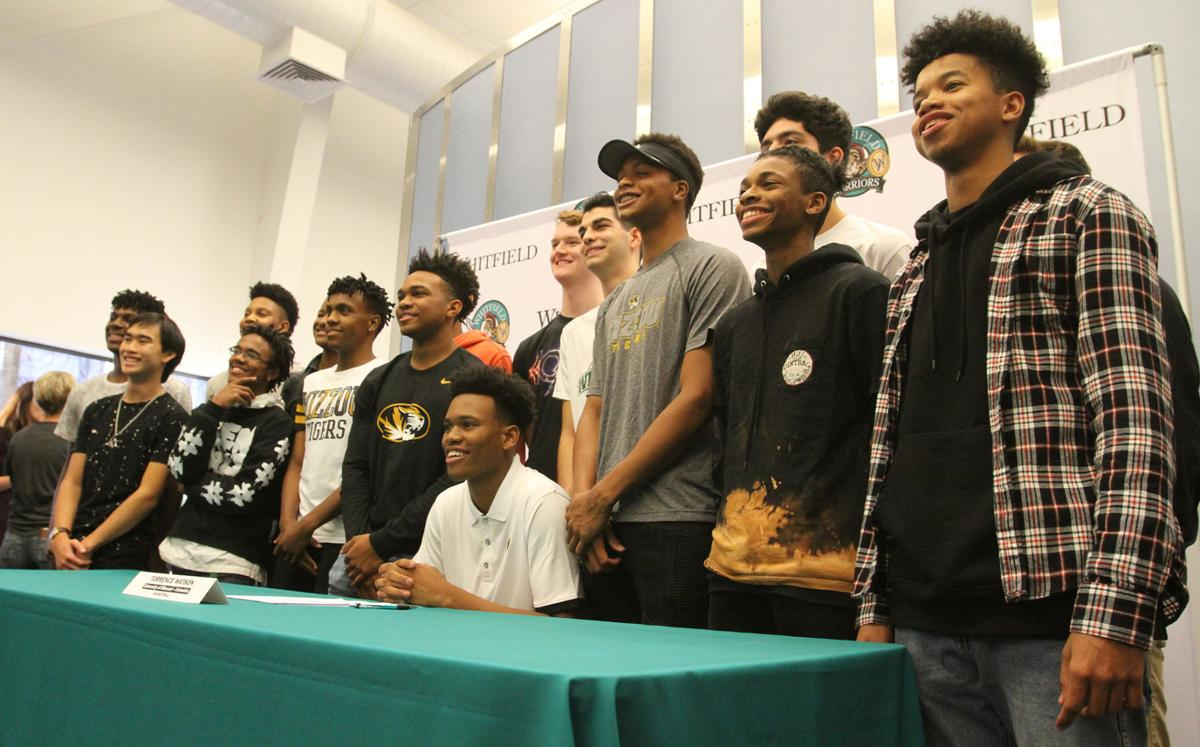 Surrounded by well-wishers, Whitfield\'s Watson signs with Mizzou ...
