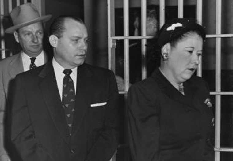 Carl Austin Hall and Bonnie Heady at the end of their trial