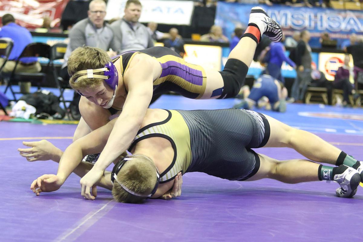Missouri Wrestling Championships - first round