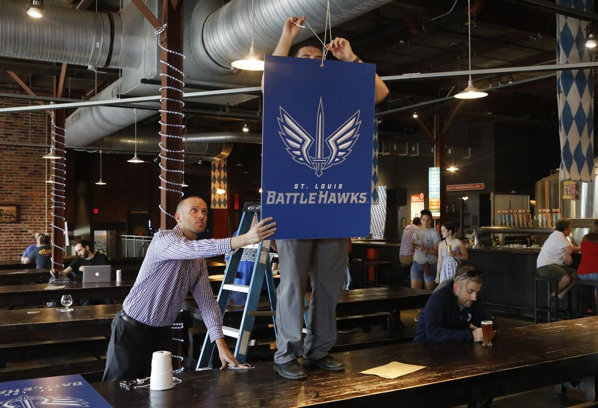 The BattleHawks are the new St. Louis XFL team