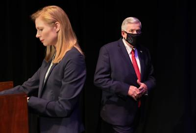 Candidates for Missouri governor debate in Columbia