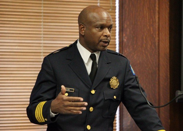 St. Louis Police Chief Dan Isom