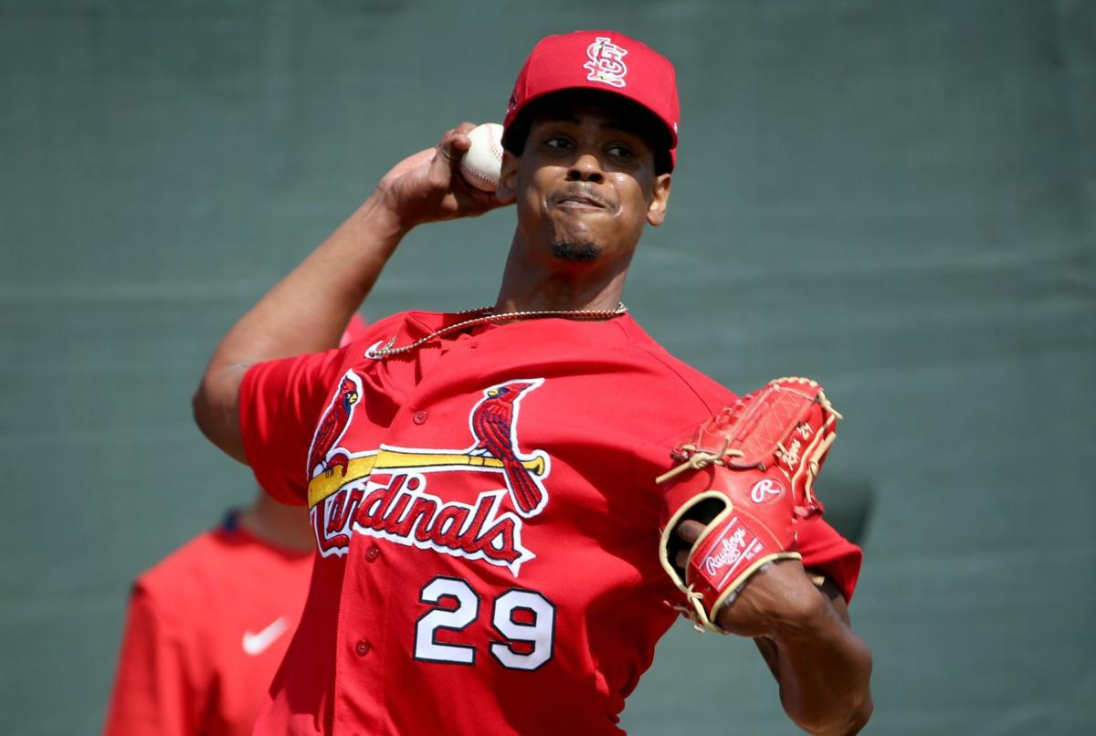 Reyes slated for just one inning of relief when Cardinals play Mets