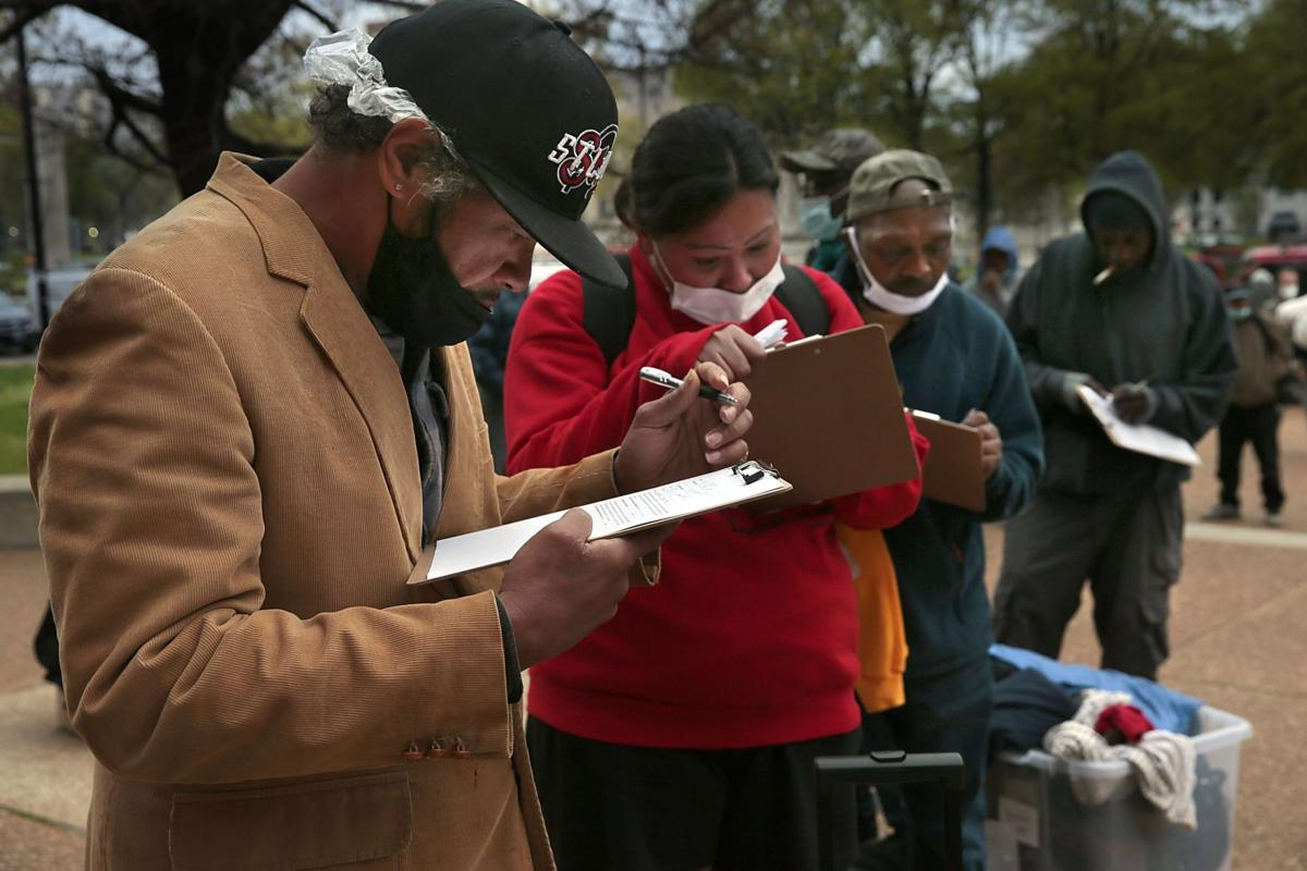 Vaccines brought to downtown homeless