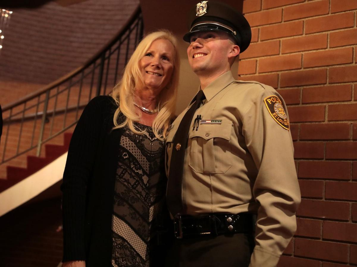 Young officer follows father's path throug