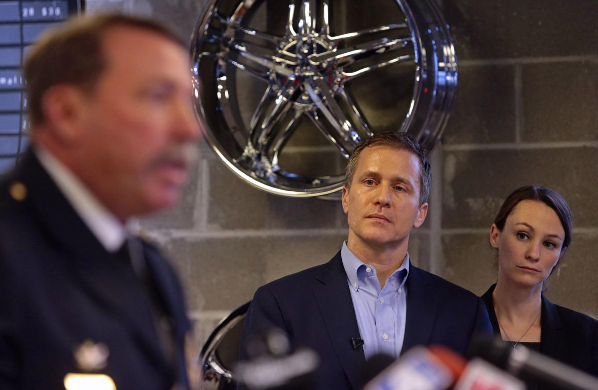 Governor-elect Eric Greitens announces the members of his public safety team