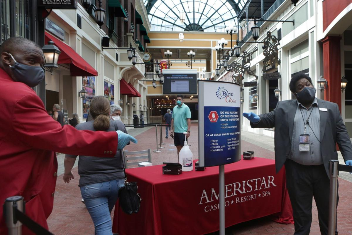 Lumiere Casino St Louis Reopening