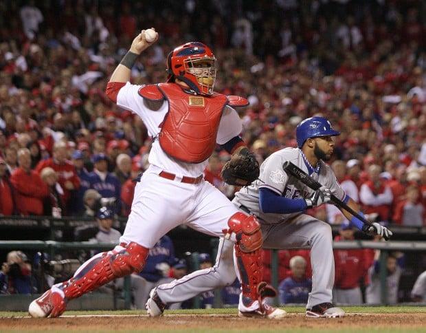 World Series:  Rangers 2, Cardinals 1