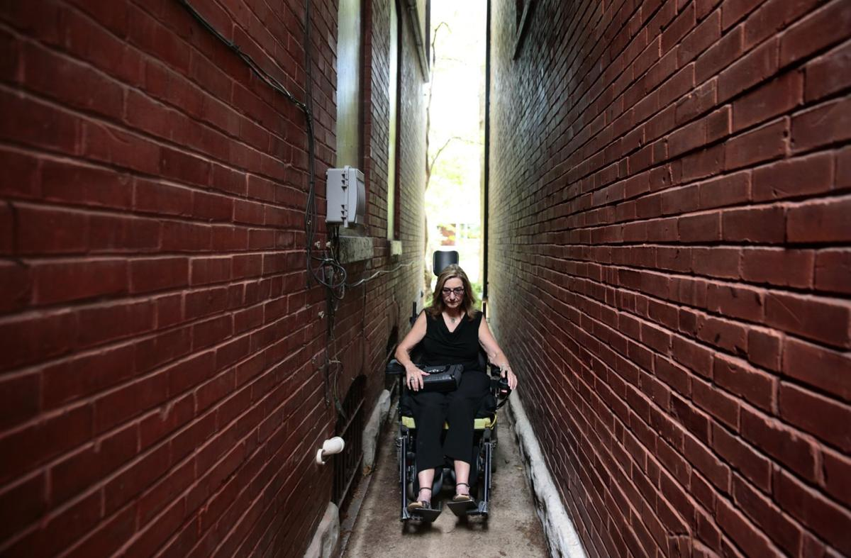 Advocate for disabled views life on other side