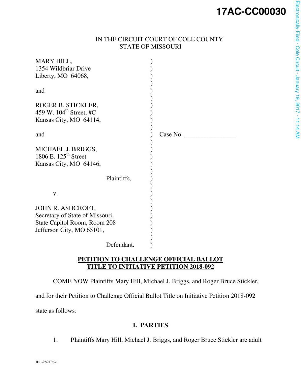 Challenge to AFL-CIO petitions