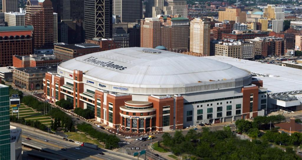 Rams' dome-rehab plan includes sliding roof, rebuilt Broadway side