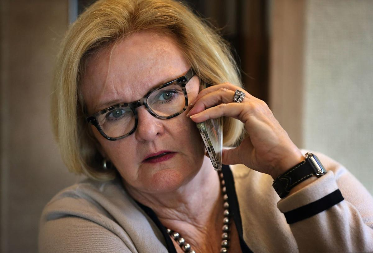 Claire McCaskill campaigns to keep Senate seat