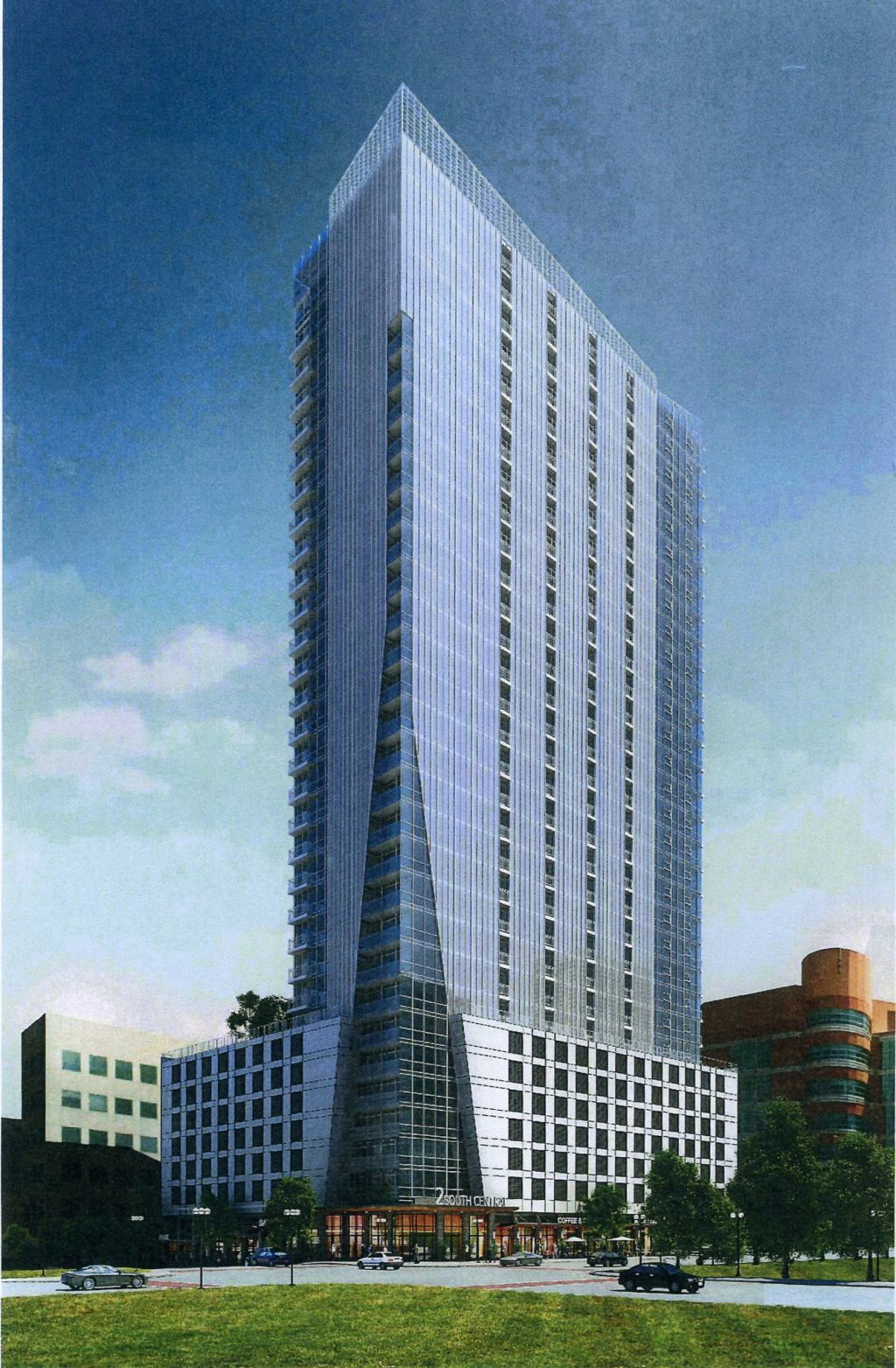 Montgomery proposes 33 story Clayton apartment building