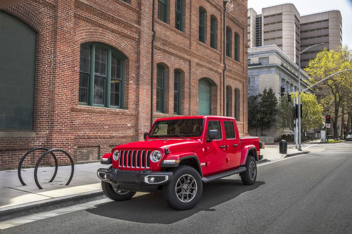 New for 2021 in the Gladiator line is an available 3.0-liter turbo diesel that makes 260 hp and a whopping 442 lb.-ft. of torque.