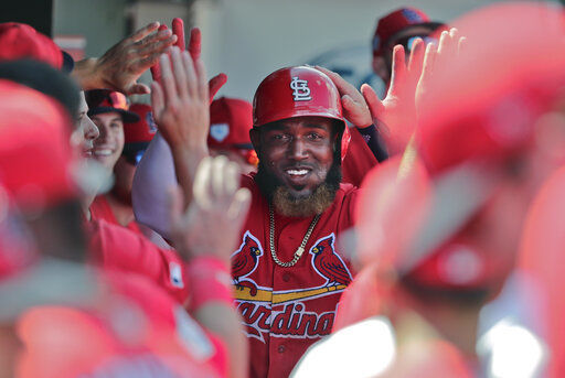 Cards notebook: Ozuna shows progress with throwing arm