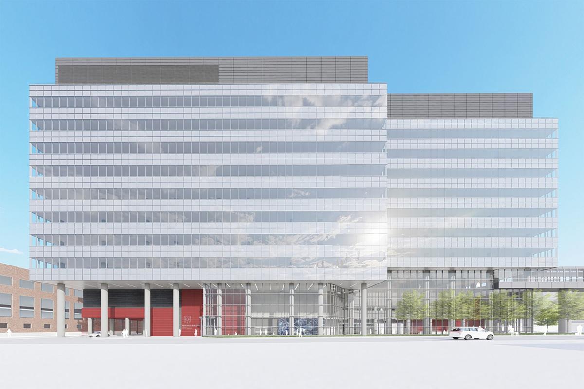 Washington University neuroscience building