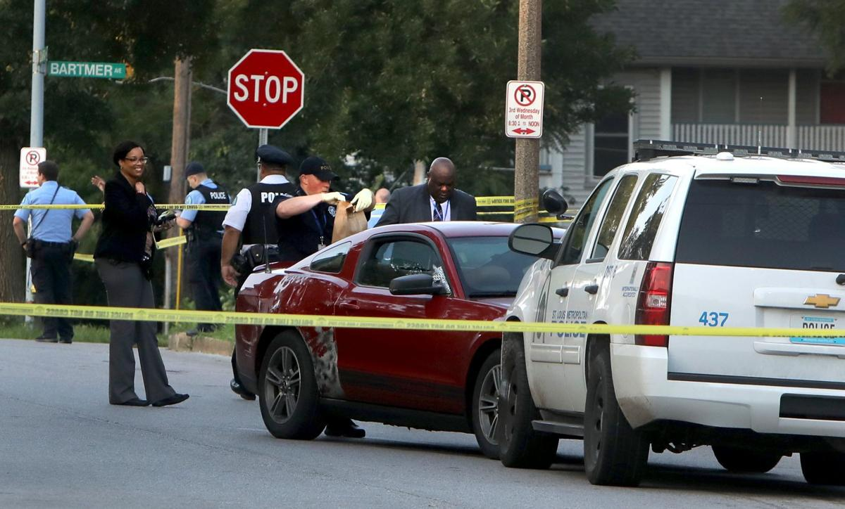 Police shoot man suspected in downtown St. Louis carjacking