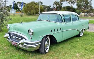 1955 Buick Century spotted Down Under!.