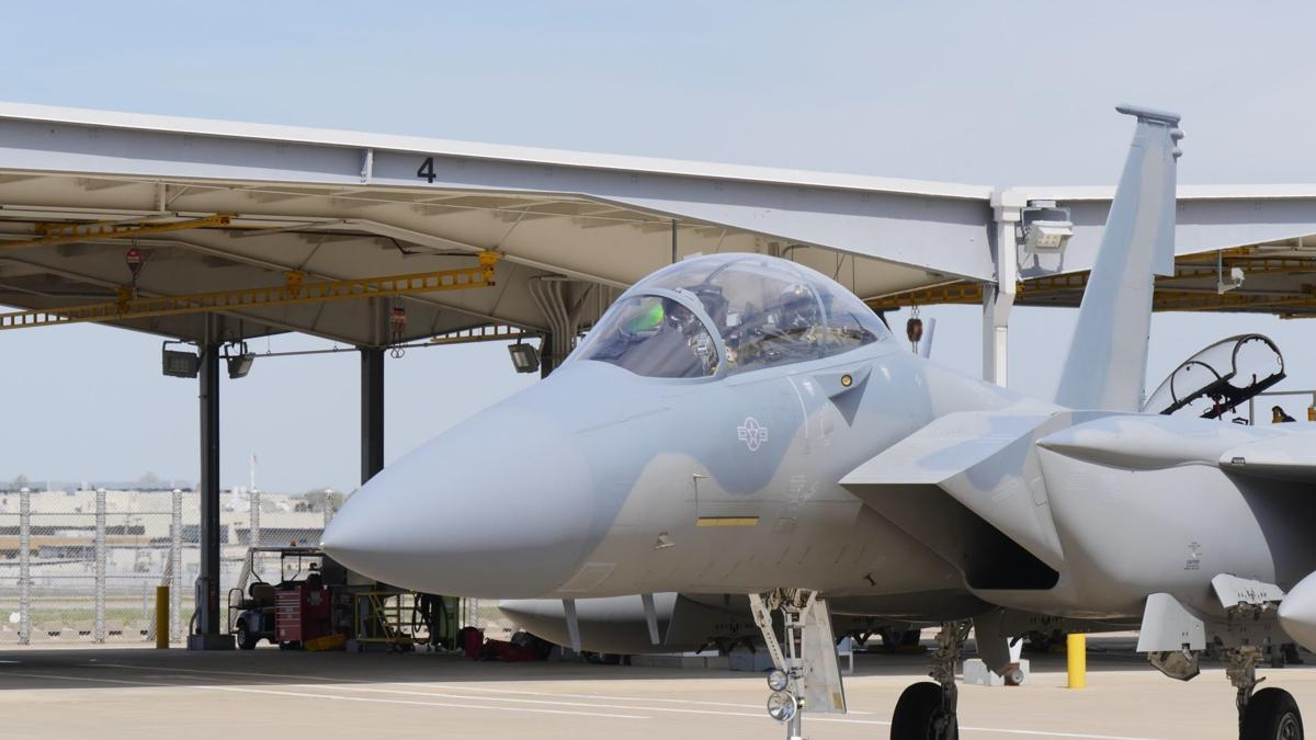 The Air Force hasn't bought an F-15 in over a decade. Boeing is getting its St. Louis plant ready to build them just in case.