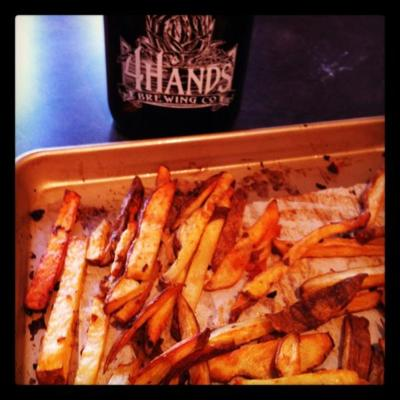 Beer French Fries