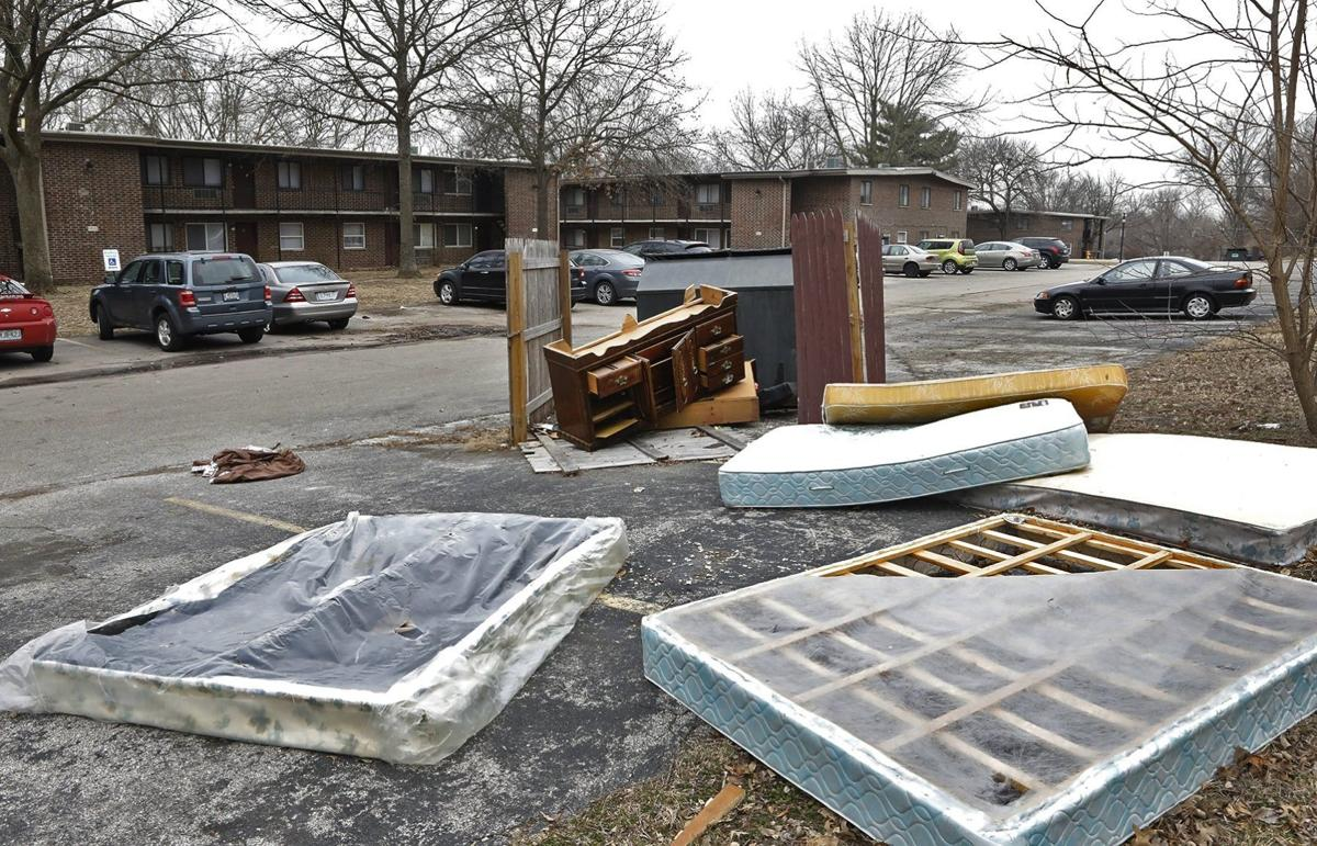 Problems and health issues persist in Springwood Apts.