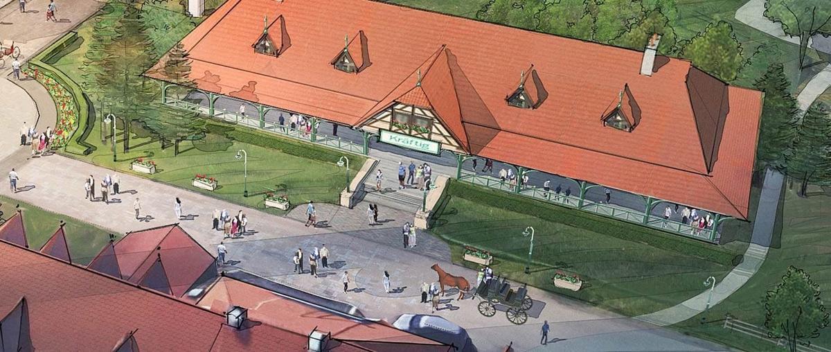 Kraftig plans to add event pavilion at Grant's Farm