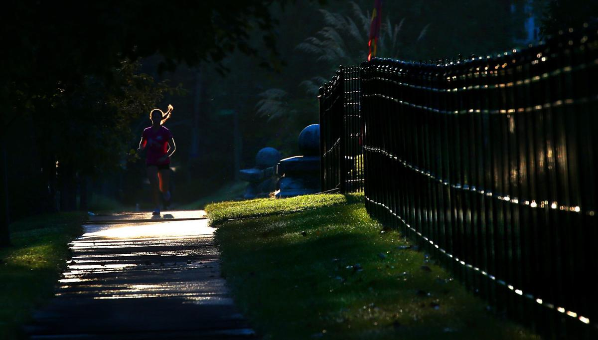 Record October heat bakes St. Louis