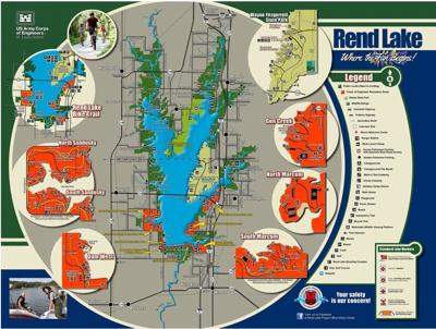 Rend Lake Illinois Map.Businesses Schools Close As Southern Illinois Cities Run Out Of