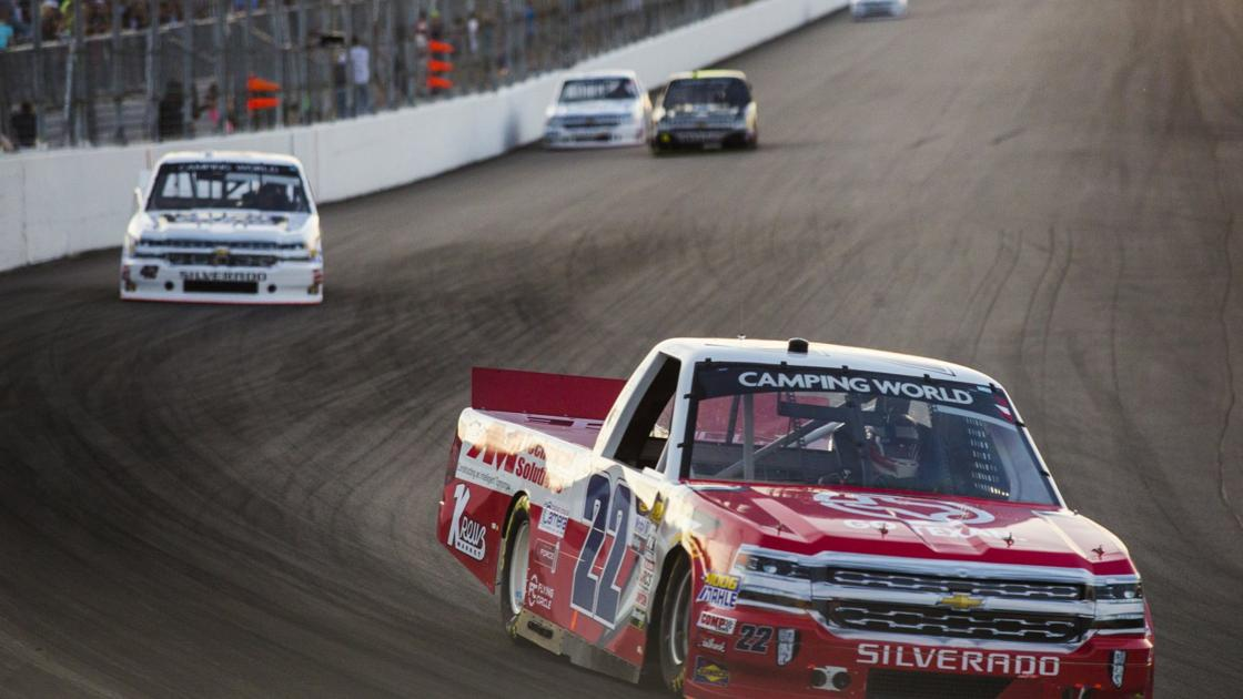 Photos: Justin Haley wins NASCAR trucks race at Gateway raceway