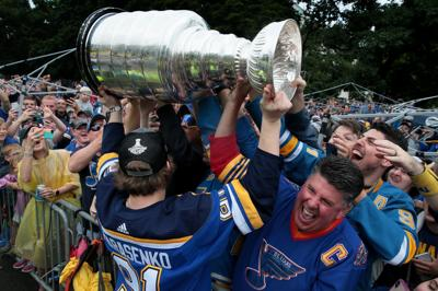 Scenes from Blues Stanley Victory Parade