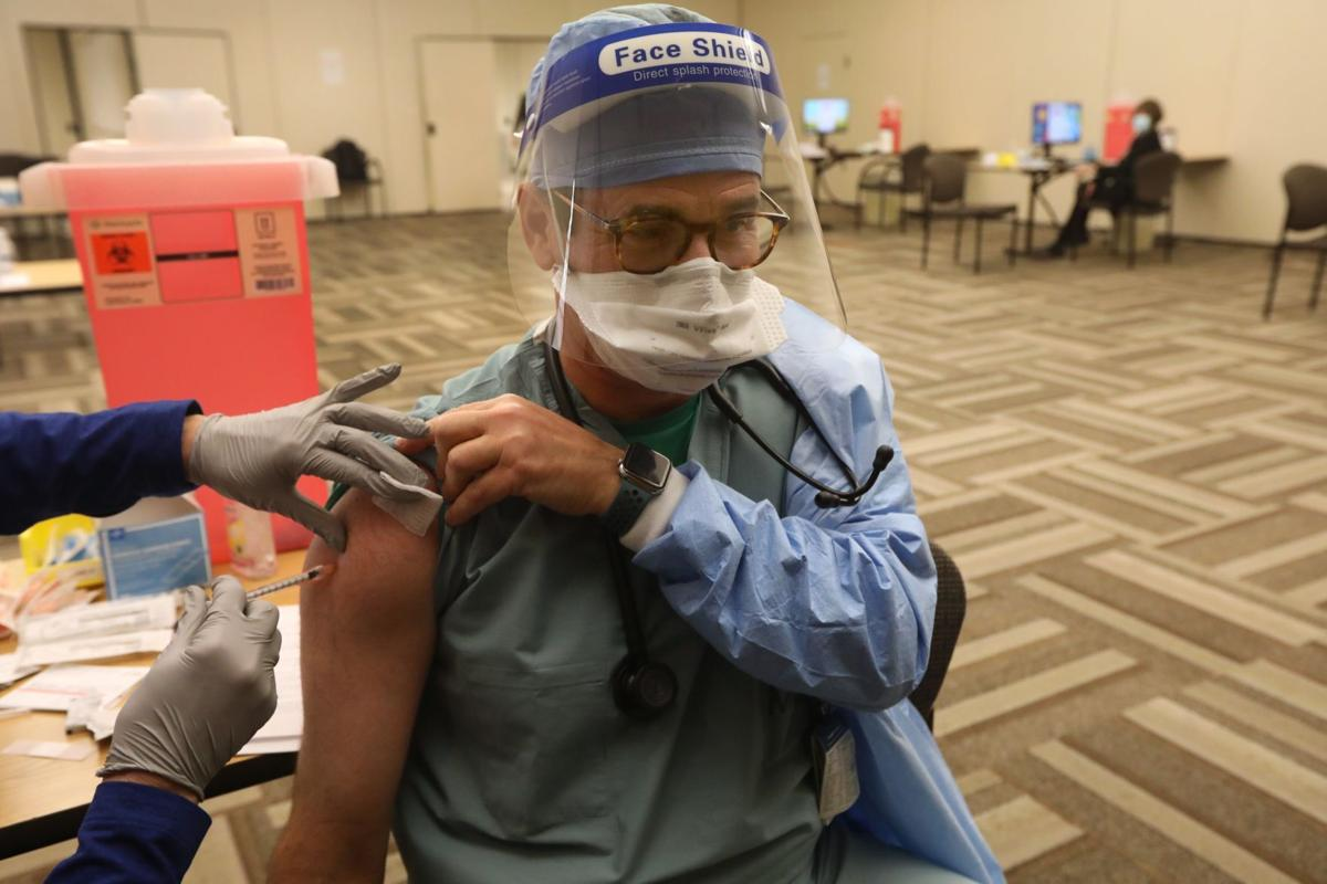 Mercy starts to vaccinate frontline staff for COVID-19