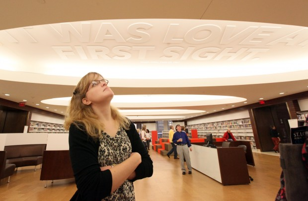 Renovated downtown St. Louis library awes 'friends ...