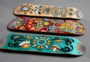 Made in St. Louis: Την περίτεχνα σχέδια light up skateboards, πορσελάνη, παπούτσια