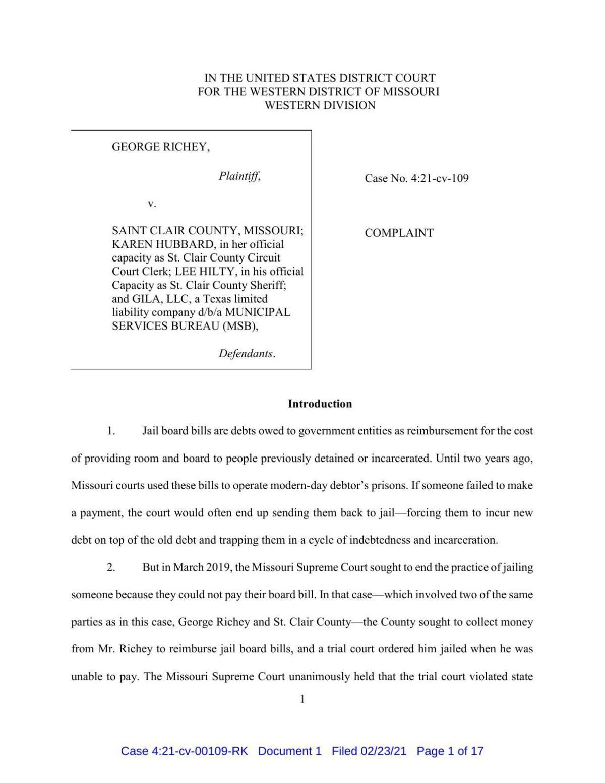 Richey Lawsuit