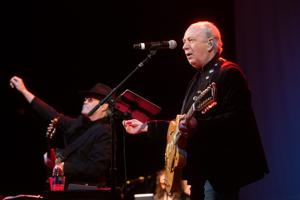 Micky Dolenz and Mike Nesmith celebrate the Monkees legacy at the Family Arena