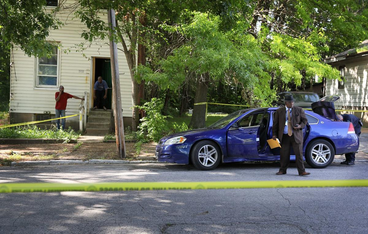 Shooting at North 20th and Angelrodt streets in St. Louis