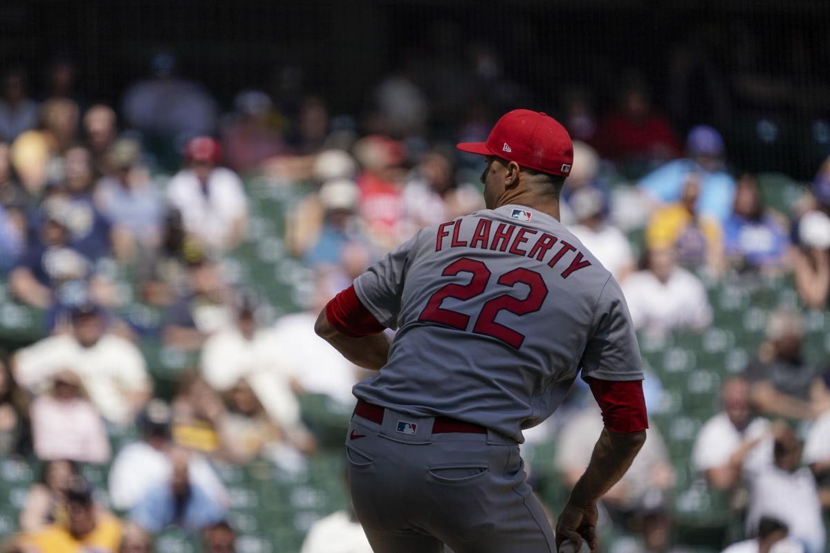 Cardinals Brewers Baseball