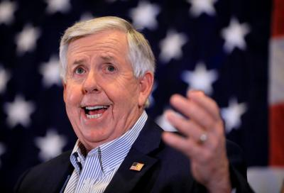 Missouri Gov. Mike Parson 2020 election night