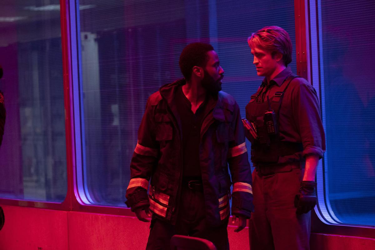 Review: In 'Tenet,' a time-bending thriller for bended times