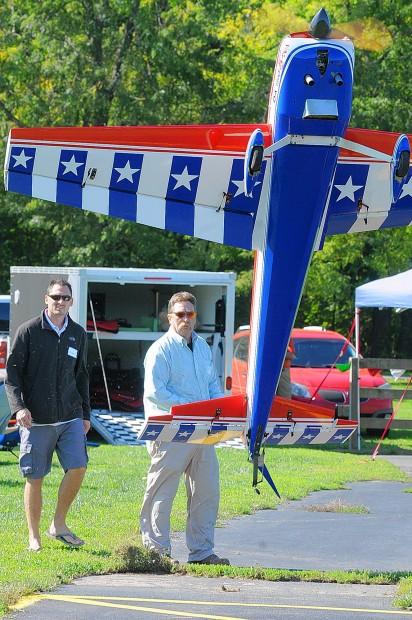 Model aircraft at Buder Park