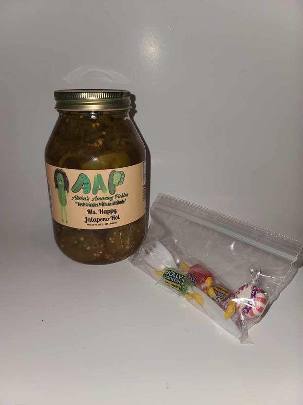 Ms. Happy Jalapeño Hot Pickles