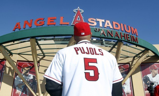 new styles a5f9d 803cc Pujols: 'It was about the commitment' | St. Louis Cardinals ...