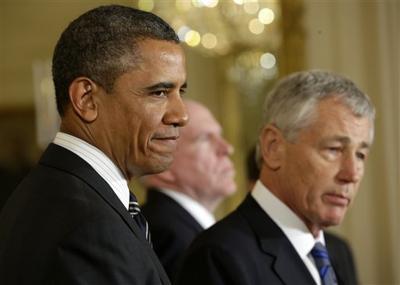 Defense nominee Hagel lays out stand on Iran