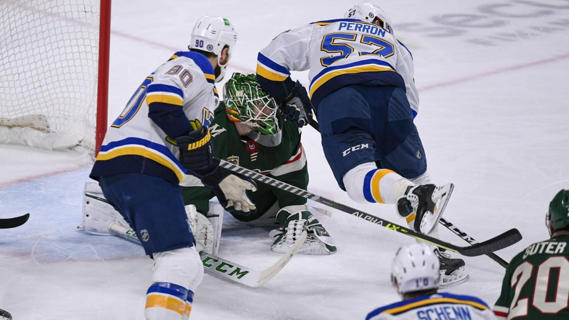 Blues can't stand prosperity, lose 4-3 in OT