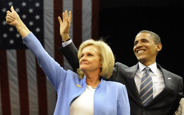 2008 - Claire McCaskill and Barack Obama