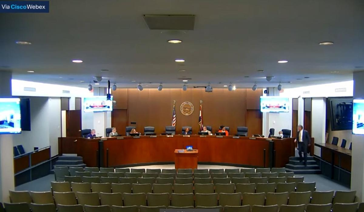 County Council charter position search committee