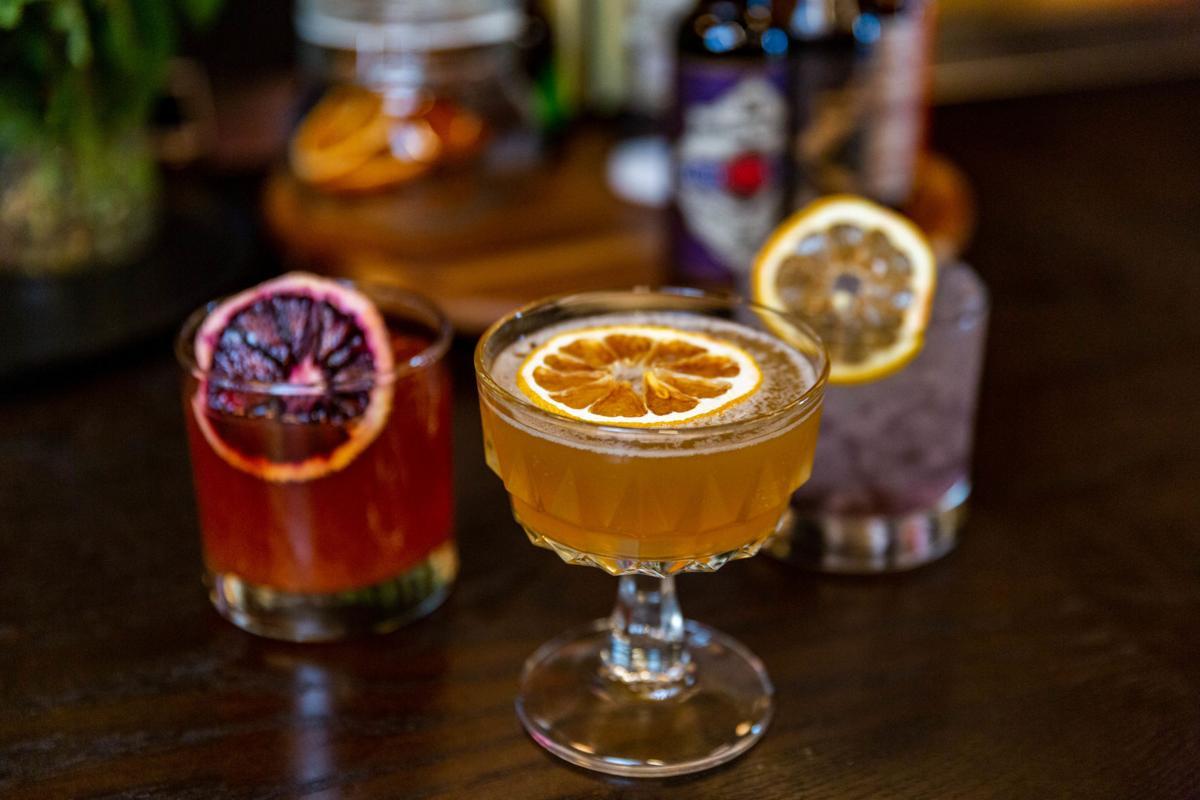 Cocktails at Takashima Record Bar