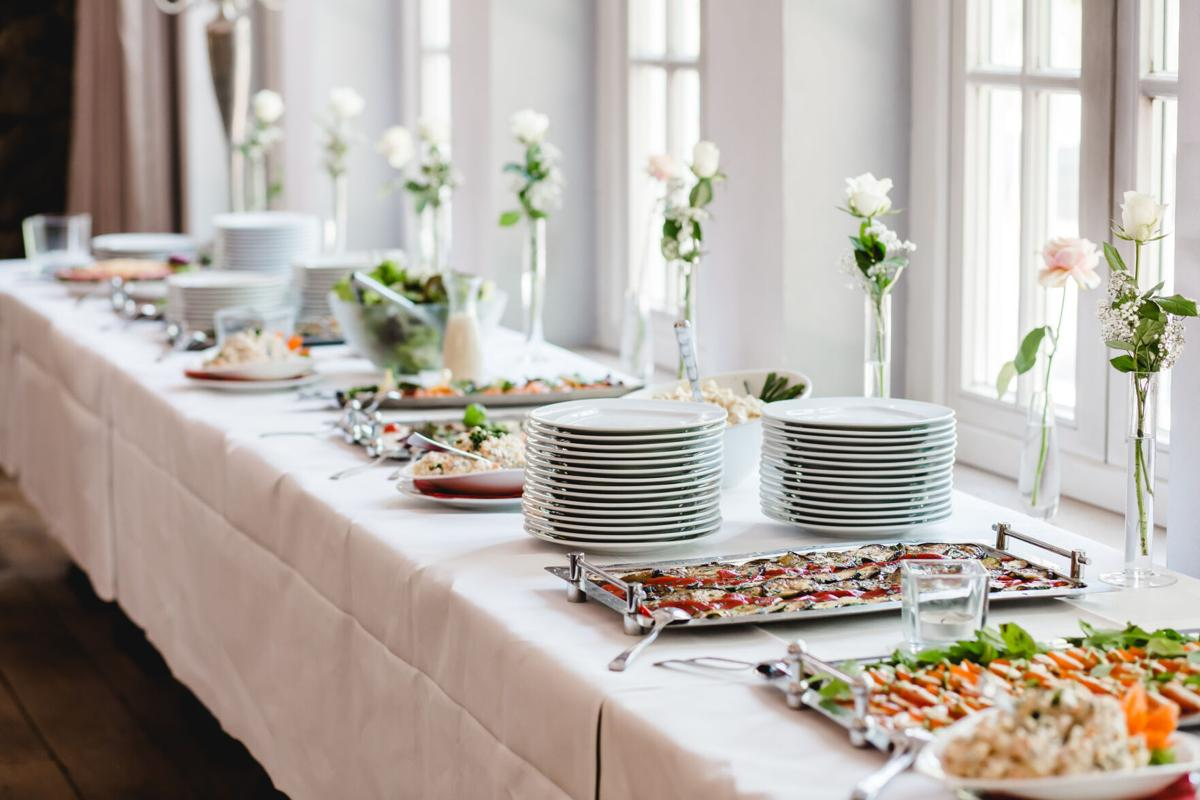 catering wedding buffet events
