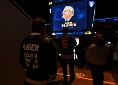 Memorial for Bobby Plager at the Enterprise Center