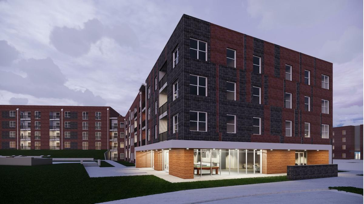 Holland Construction Services Begins Work on Phase II of Sunnen Station Apartments.